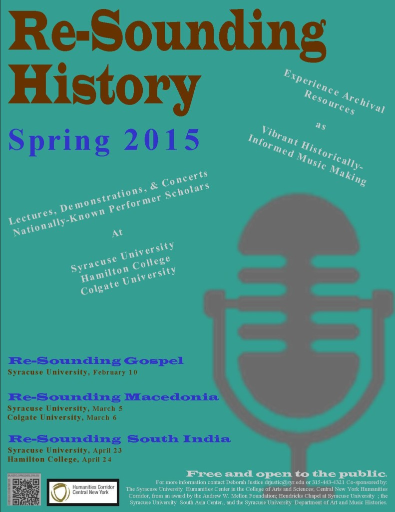 Spring 2015 Series flyer